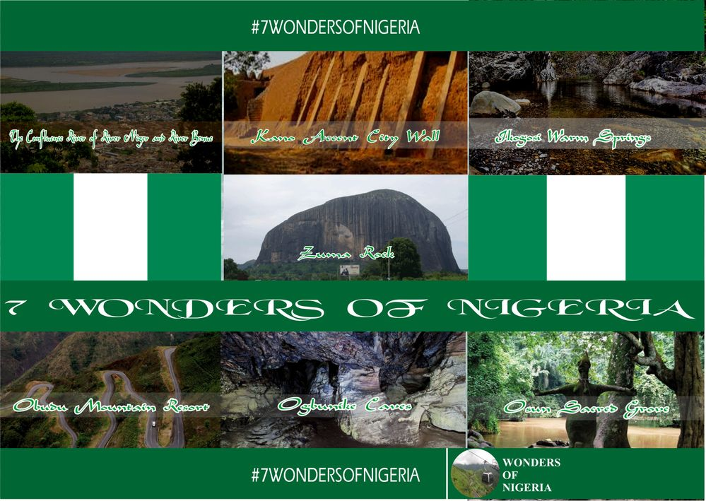 Untamed List of the 7 Wonders  In Nigeria