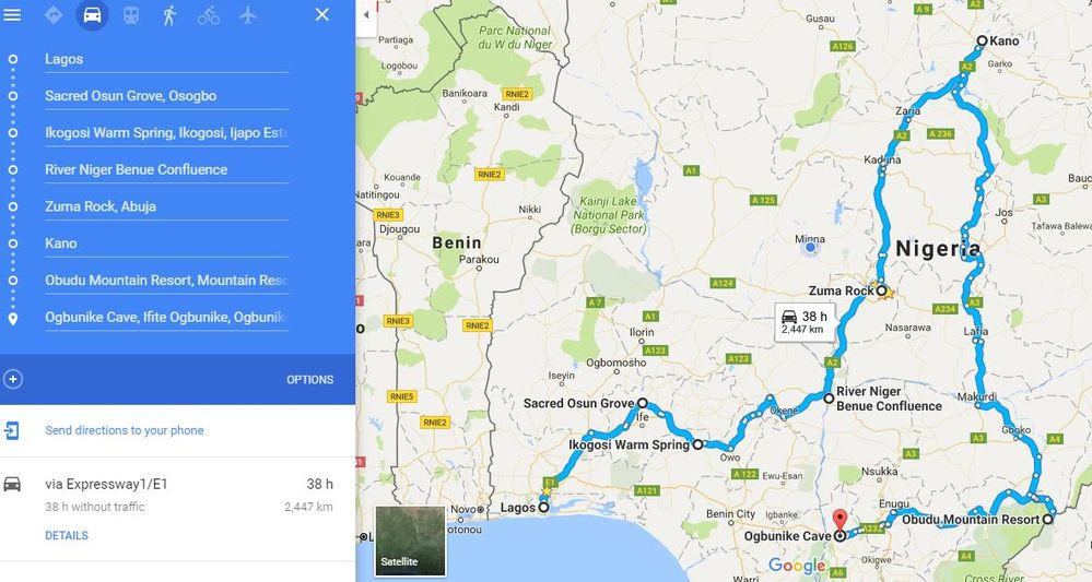 Explore The Wonders Of Nigeria When Visiting In 7days