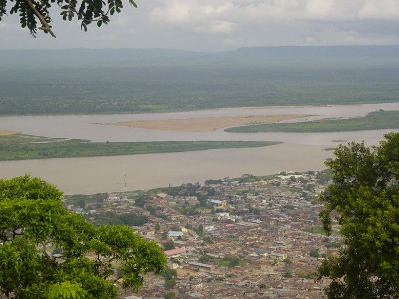 Confluence of River Niger and Benue