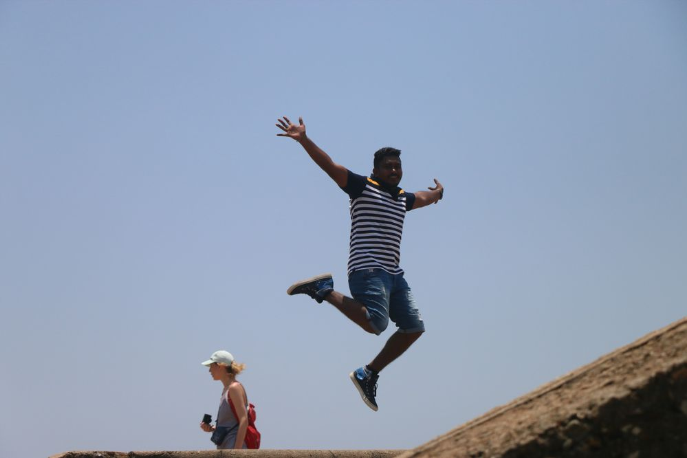 At Galle Dutch Fort, Sri Lanka