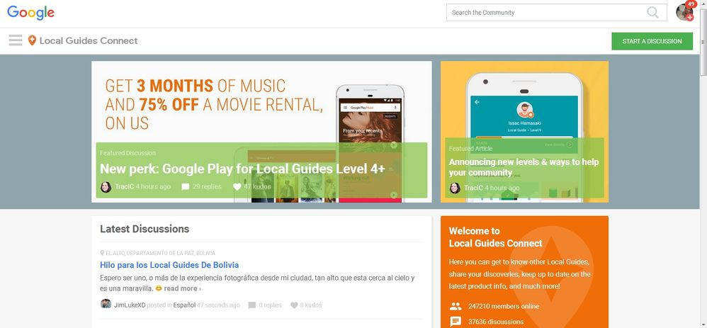 Re: New perk: Google Play for Local Guides Level 4+