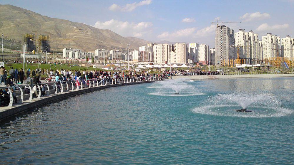 of Persian Gulf lake is an